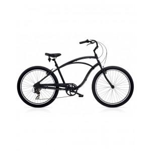 Bicicleta Electra Cruiser Lux 7D Men's Black Matte