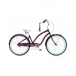 Bicicleta Electra Wren 3i Ladies Aubergine